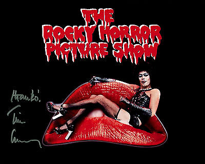 Tim Curry - The Rocky Horror Picture Show - Signed Autograph REPRINT