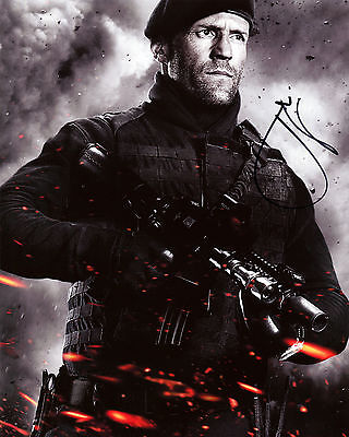 Jason Statham - Lee Christmas - The Expendables 2 - Signed Autograph REPRINT