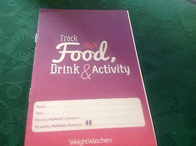 Weight Watchers Propoints Plan Tracker Sheets 6 Months Worth 26 Trackers