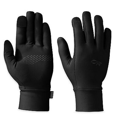 Outdoor Research Mens Pl Base Sensor Gloves, Black, Large