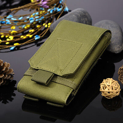 Outdoor Sports Waist Belt Case Camo Bag Phone Holder Pack Nylon Pouch Hunting