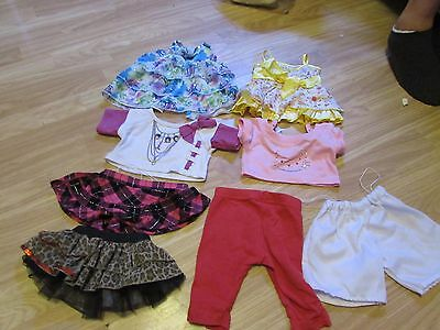 8 Assorted Items Of Clothing To Fit Teddy Bears Incl Build A Bear Items