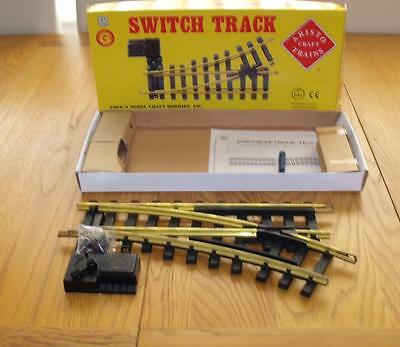 A11200  Right Hand Point Aristocraft G Gauge NEW Switch (point) manual BOXED