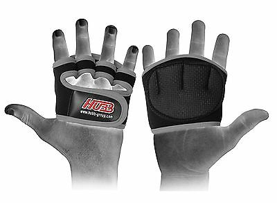Grip Pads-Weight Lifting Exercise Straps Sweat Free Anti-Slip Gym Gloves Hg-579G