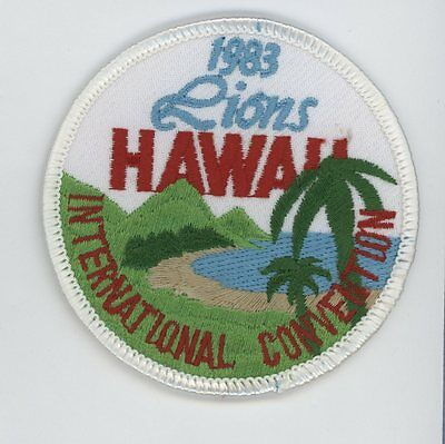 "1983 Hawaii  Intl. Conv. 3"" Michigan Patch"