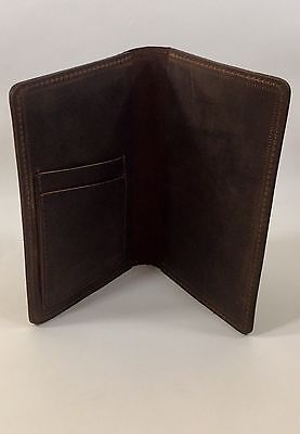 Rusty Moose Field Notes / Moleskine Oil Tan Cowhide Leather Journal Cover