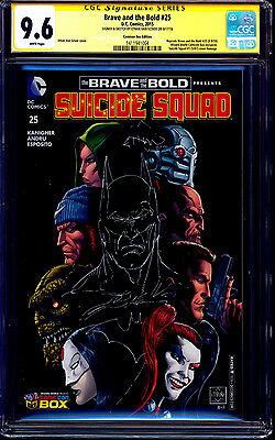 Brave and the Bold #25 VARIANT CGC SS 9.6 signed Batman SKETCH Ethan Van Sciver