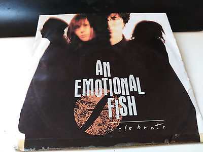 Single An Emotional Fish - Celebrate - Eastwest Europe 1991 Vg+/nm