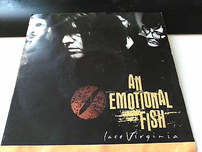 Single An Emotional Fish - Lace Virginia - Eastwest Uk 1990 Vg+/nm