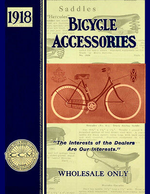 Bicycle Accessories 1918 Catalog and Repair Guide