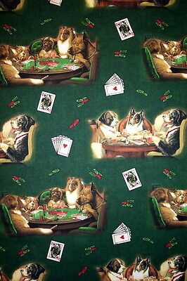 Poker Pups-- Padded Cover For 18X49 Ironing Board