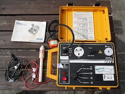 Megger Pat1 Portable Appliance Tester With Leads And Instructions