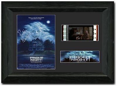 Fright Night Framed Film Cell 35 mm Film Cell Stunning display Signed