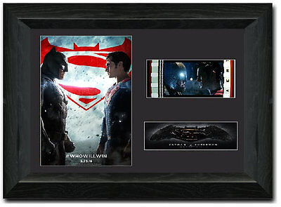 Batman v Superman: Dawn of Justice 35 mm Framed Film Cell Display Stunning
