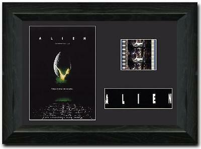 ALIEN 35mm Film Cell Display Cast Signed Stunning Collectible Sigourney Weaver
