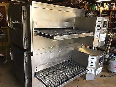 Pizza Ovens, Set Of Lincoln impinger Gas Conveyor Ovens