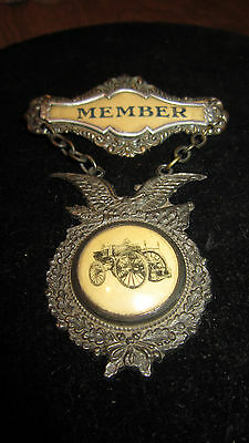 SUPERB Vintage FIRE FIGHTER'S Member BADGE / Excellent Condition /
