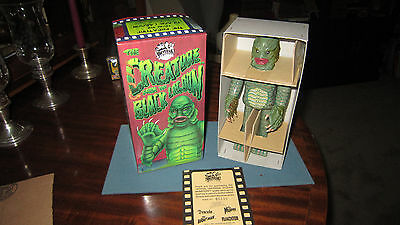 MINT in Orig BOX / 1991 Universal City BLACK LAGOON CREATURE / Wind-Up Tin Toy /