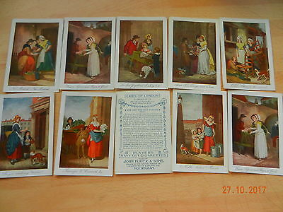 players cries of london rarer large cards full set