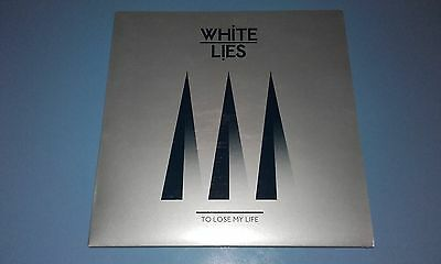 """White Lies - To Lose My Life Limited Edition 7"""" Numbered Clear Vinyl Single 2009"""