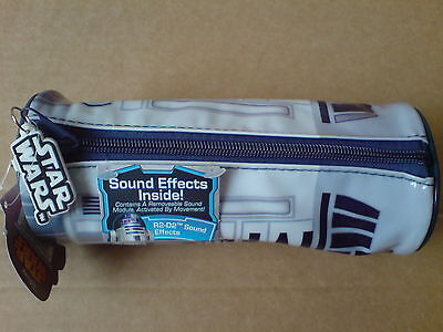 Star Wars R2D2 Pencil Case With Sound Effects New