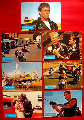 Mad Max 1979  Mel Gibson Joanne Samuel George Miller Unique  Exyu Lobby Cards