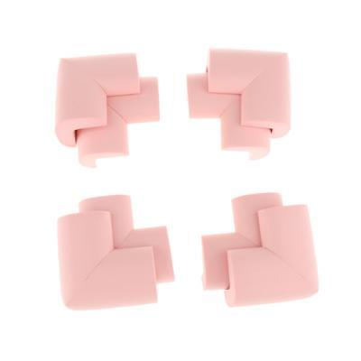 10pcs Corner Edge Cushion Protectors Safety Protection for Child Baby Pink