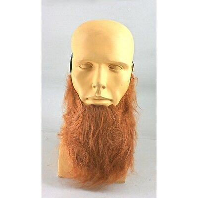 Beard Costume Red Viking Leprechaun Fake Chin Beard