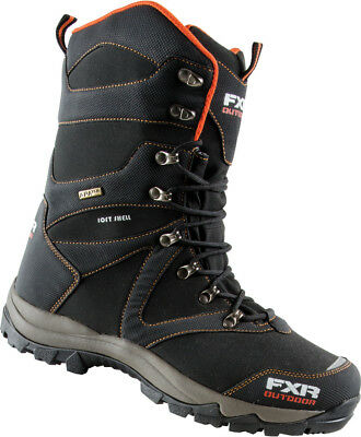 FXR Mens Black Snowmobile Renegade Trail Boots Snocross