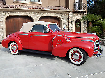 1940 Buick Other 2 Door Convertible Coupe 1940 Buick Special Convertible 40 Series w/ Dual Side Mounts Frame Off Restored