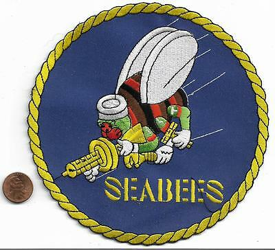 US Navy Seabees Back Patch