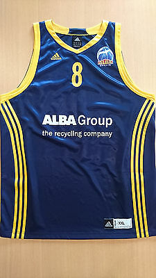 Basketball jersey camiseta baloncesto Heiko Schaffartzik Alba Berlin Germany 2XL