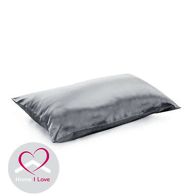 100% Silk Charcoal 1 Pillowcase 22 mm AntiAgeing Pamper Skin&Hair 70x50 cm