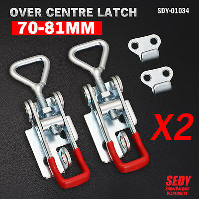 Over Centre Latch Small 2 Pcs Trailer Toggle Overcentre Latch Fastener UTE 4WD