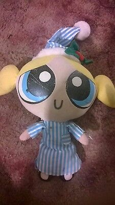 Christmas Bed time powerpuff girls bubbles doll