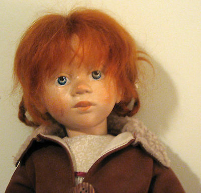 Eva Beytra, Contemporary Doll Artist, German Made Wooden Doll, Jointed