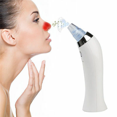 Cleaner Comedo Black head Remover Vacuum Suction Diamond Dermabrasion Device