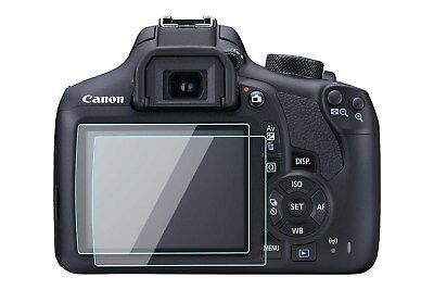 2 Pack Canon Rebel T5 T6 Screen Protector Tempered Glass for Canon 1200D 1300D