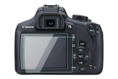 Canon Rebel T5 T6 Screen Protector Tempered Glass for Canon 1200D 1300D 2 Pack