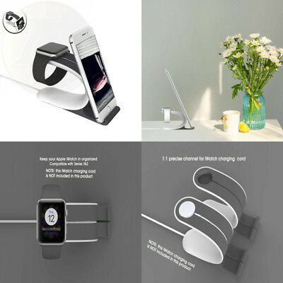 Loca Mobius 2-In-1 Apple Watch Smart Charging Docks Stand New Free Shipping