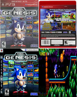 Sonic Ultimate Genesis Collection Playstation 3 New Free Shipping