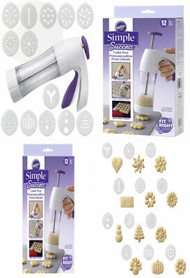 Wilton Simple Success Cookie Press New Free Shipping