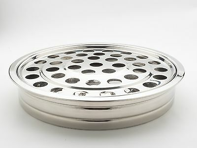 Communion Tray 40 holes, Silvertone Stainless Steel. FREE DELIVERY
