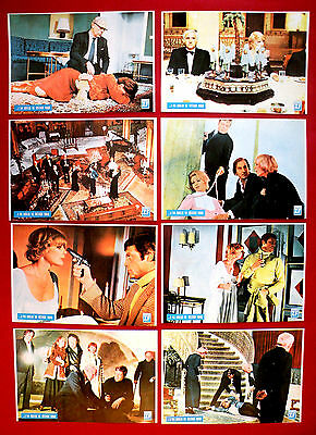 Ten Little Indians 1974 Elke Sommer  Agatha Christie Unique Exyu Lobby Cards