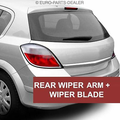 Rear Window Windscreen Wiper Arm And Blade for Vauxhall Astra H Hatchback 04-09
