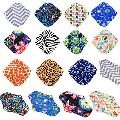 21 Pattern Size S/M/L Reusable Bamboo Cloth Washable Menstrual Pad Mama Sanitary