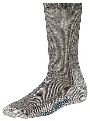 SmartWool Women's Hike Medium Crew Socks, Brown - taupe - Merino Wool
