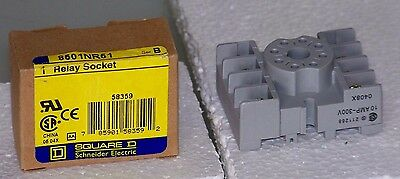 8501NR51 Square D 8 pin relay base