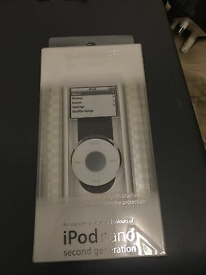 ipod nano 2nd generation case With Strap. Crystal Clear And Stylish Metal Shell