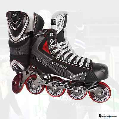 New Bauer Vapor X60R Roller Skates Size Senior Free Shipping Uk Stock